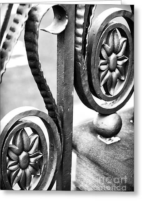 Recently Sold -  - ist Photographs Greeting Cards - Charleston Iron Works II Greeting Card by John Rizzuto