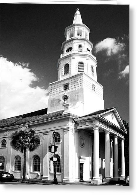 Charleston Layers Charleston Sc Greeting Card by William Dey