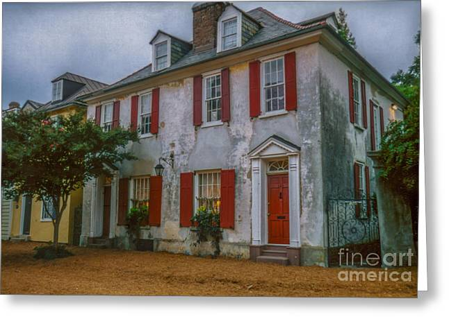 Pirates Greeting Cards - Charleston Pirates House Greeting Card by Dale Powell