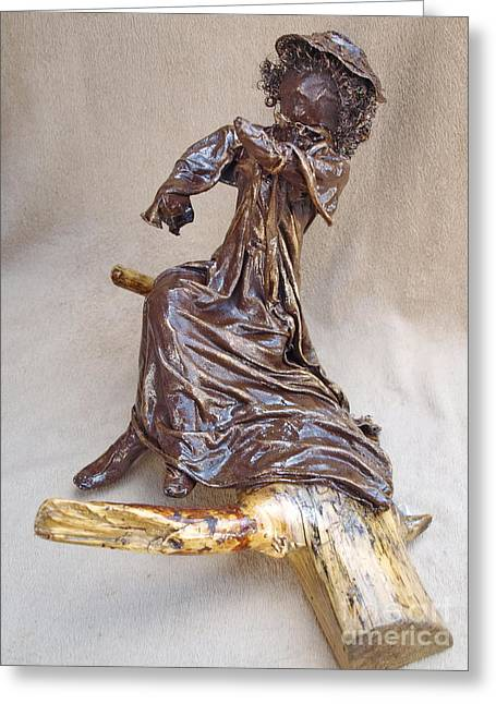 Flowing Sculptures Greeting Cards - Charlett - 2nd Photo Greeting Card by Vivian Martin