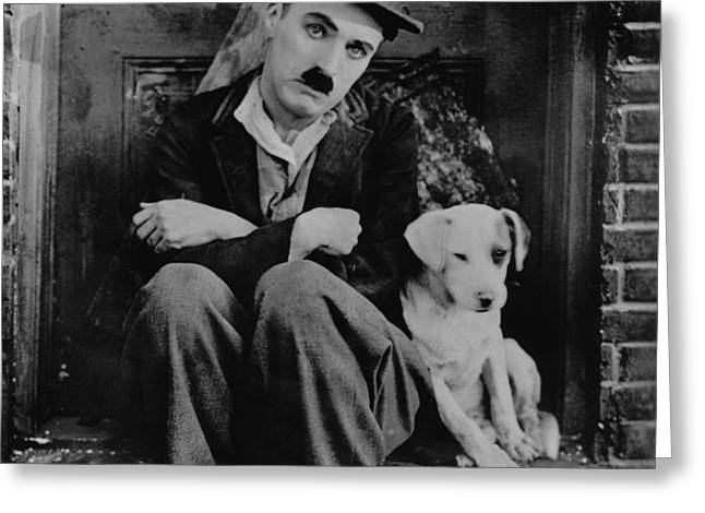 Charlie Chaplin Greeting Card by Gianfranco Weiss