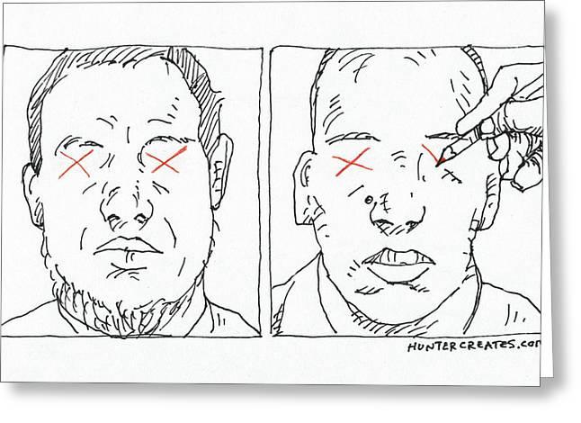 Cartoonist Greeting Cards - Charlie Hebdo Justice Greeting Card by Steve Hunter