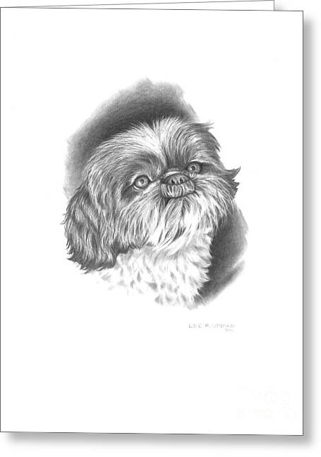 Pet Pictures Greeting Cards - Charlie Greeting Card by Lee Updike