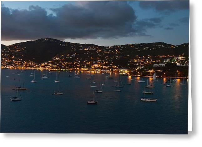Charlotte Homes Greeting Cards - Charlotte Amalie Greeting Card by Hank Shiffman