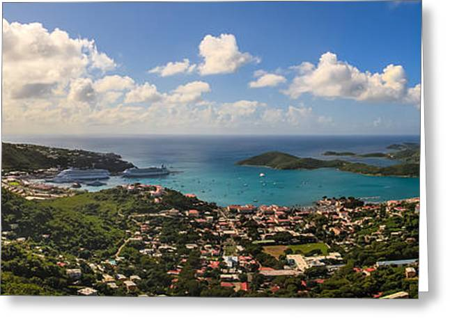 Charlotte Amalie Photographs Greeting Cards - Charlotte Amalie St. Thomas Greeting Card by Keith Allen