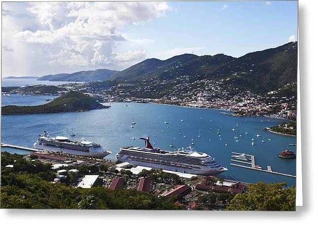 Charlotte Amalie Greeting Card by Steve Taylor