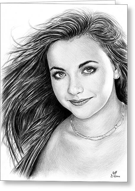 Charlotte Church Greeting Card by Andrew Read
