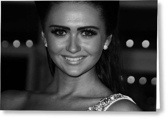 Charlotte Dawson 1 Greeting Card by Jez C Self