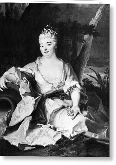 Charlotte Elizabeth (1652-1722) Greeting Card by Granger