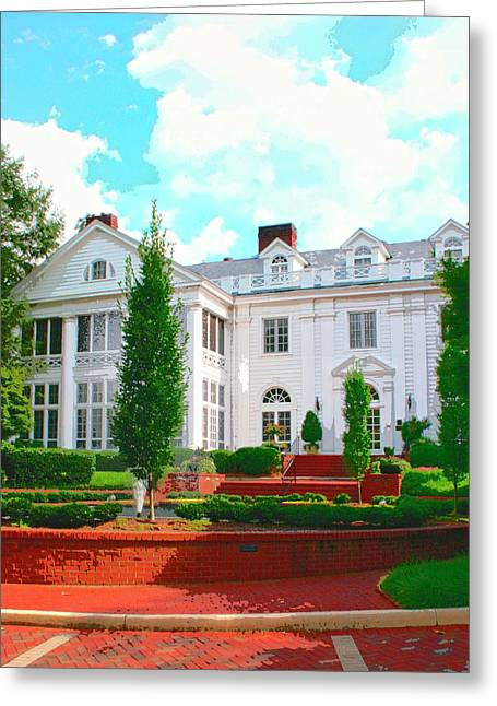 Charlotte Photographs Greeting Cards - CHARLOTTE ESTATE Charlotte NC Greeting Card by William Dey