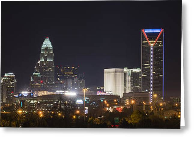 Charlotte Game Night Greeting Card by Brian Young
