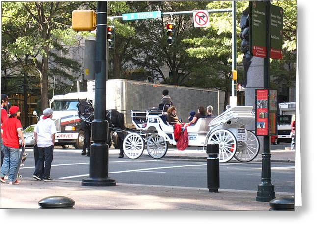 Charlotte NC - 12121 Greeting Card by DC Photographer