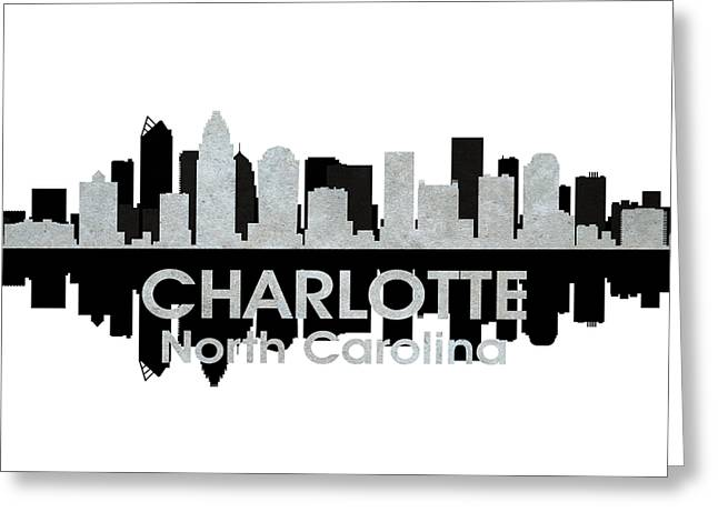 Charlotte Nc 4 Greeting Card by Angelina Vick