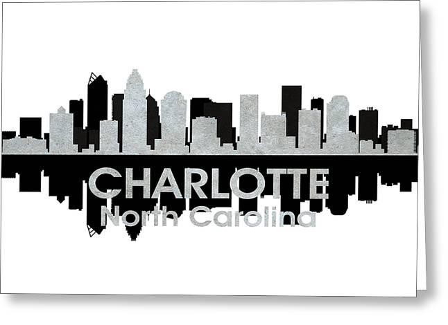 Charlotte NC 4 Greeting Card by Angelina Vick