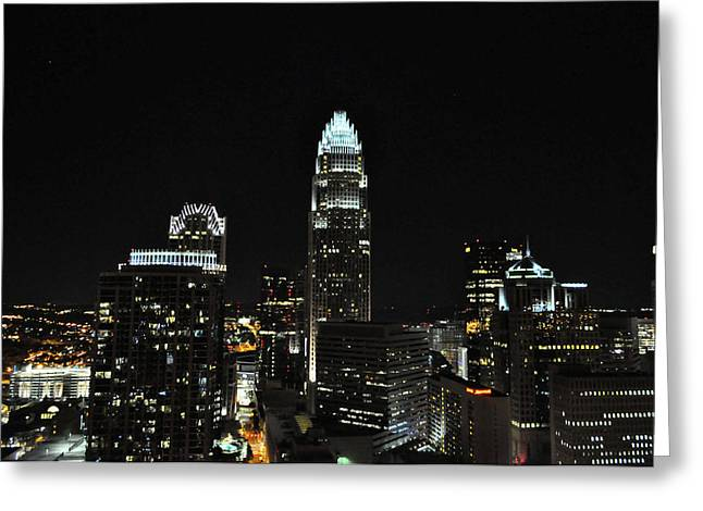 Charlotte Night CNP Greeting Card by Jim Brage