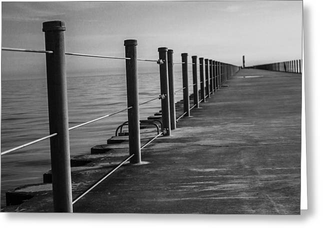 Recently Sold -  - Charlotte Greeting Cards - Charlotte Pier Greeting Card by Joshua Van Lare
