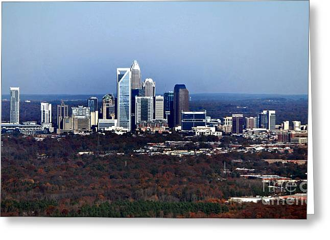 Charlotte Greeting Cards - Charlotte Greeting Card by Skip Willits