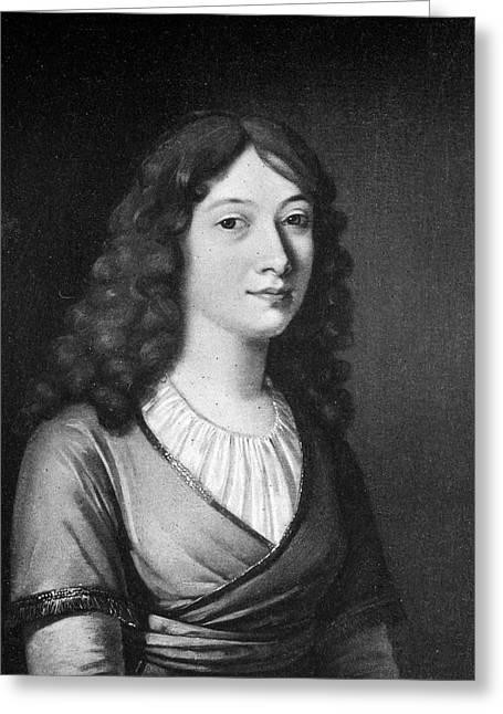 Charlotte Von Schiller (1766-1826) Greeting Card by Granger