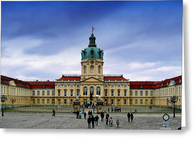 Berlin Germany Greeting Cards - Charlottenburg Palace Greeting Card by Mountain Dreams