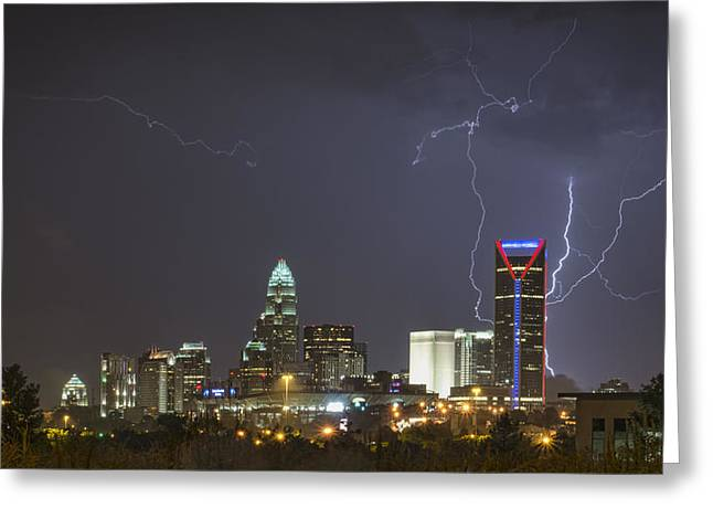 Charlotte's Storm Greeting Card by Brian Young