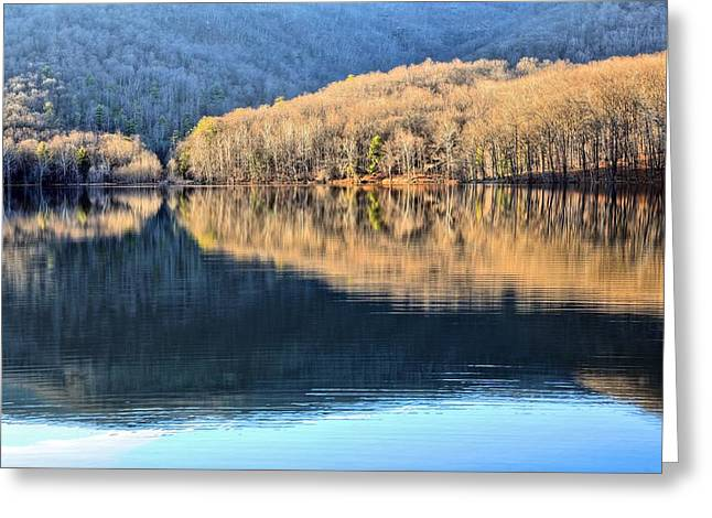 Charlottesville Greeting Cards - Charlottesville Reservoir Greeting Card by JC Findley