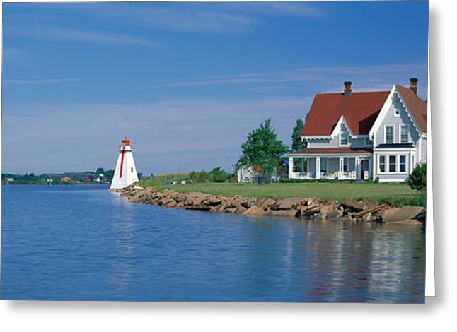 Rocky Shorelines Greeting Cards - Charlottetown, Prince Edward Island Greeting Card by Panoramic Images
