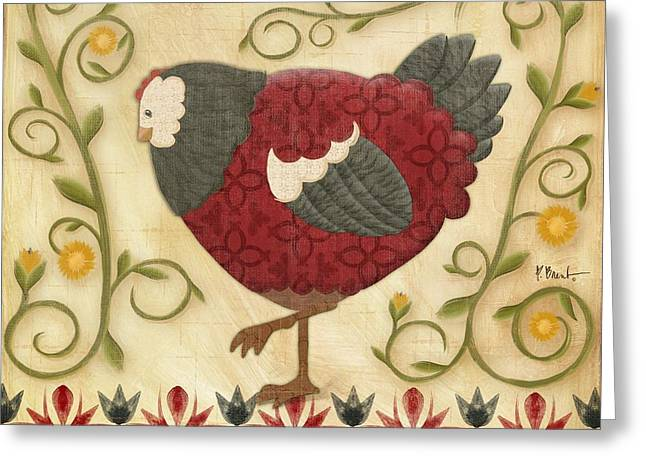 Chick Greeting Cards - Charming Chicks 1 Greeting Card by Paul Brent