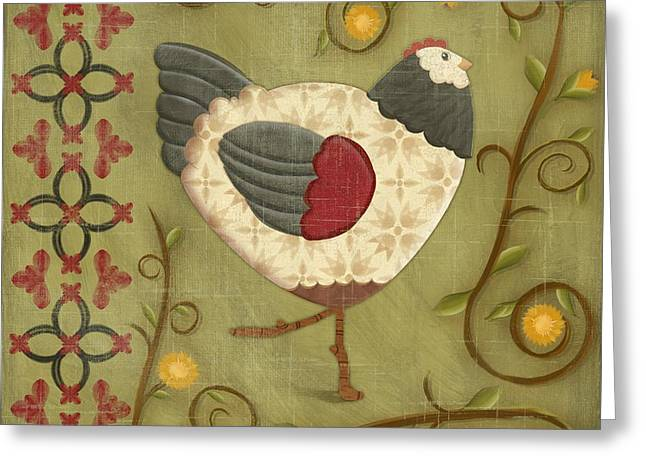 Chick Greeting Cards - Charming Chicks 2 Greeting Card by Paul Brent