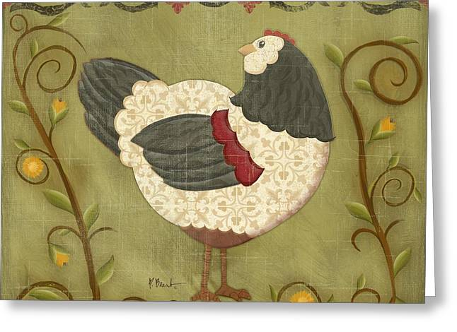 Chick Greeting Cards - Charming Chicks 3 Greeting Card by Paul Brent