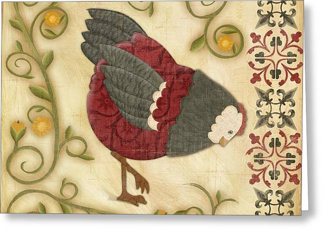 Chick Greeting Cards - Charming Chicks 4 Greeting Card by Paul Brent