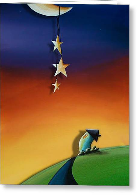Star Nursery Greeting Cards - Charming Greeting Card by Cindy Thornton