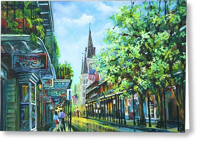People Greeting Cards - Chartres Afternoon Greeting Card by Dianne Parks