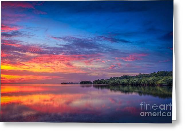 Gulf Of Mexico Scenes Greeting Cards - Chasing The Light Greeting Card by Marvin Spates