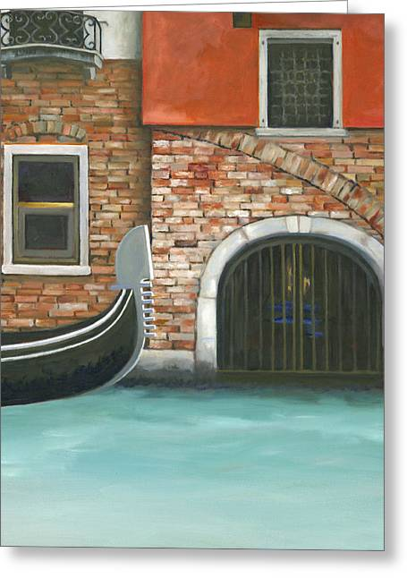 Italian Seascape Greeting Cards - Chasing Venice Greeting Card by Joe Maracic