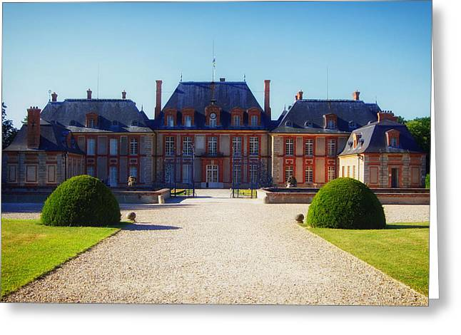 Chateau Greeting Cards - Chateau de Breteuil Greeting Card by Mountain Dreams