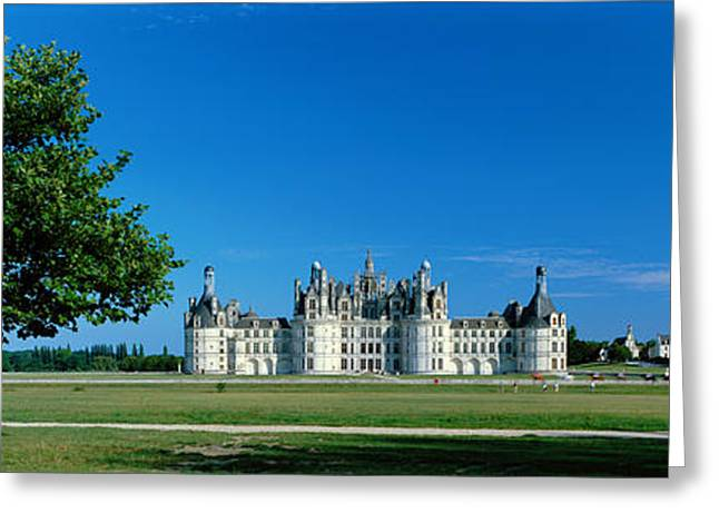 Chateau Greeting Cards - Chateau De Chambord France Greeting Card by Panoramic Images