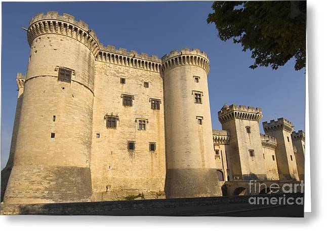 Chateau Greeting Cards - Chateau De Roi Rene Greeting Card by John Shaw