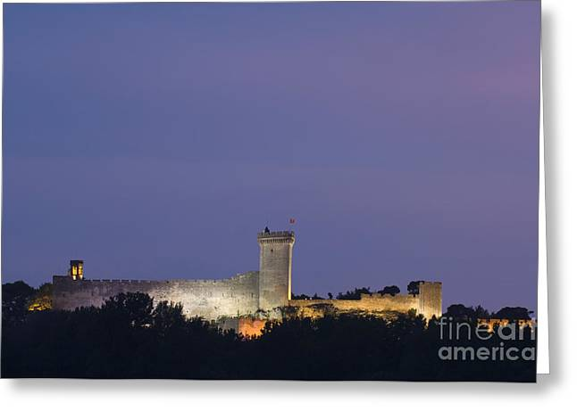 Chateau Greeting Cards - Chateau De St. Roman, France Greeting Card by John Shaw