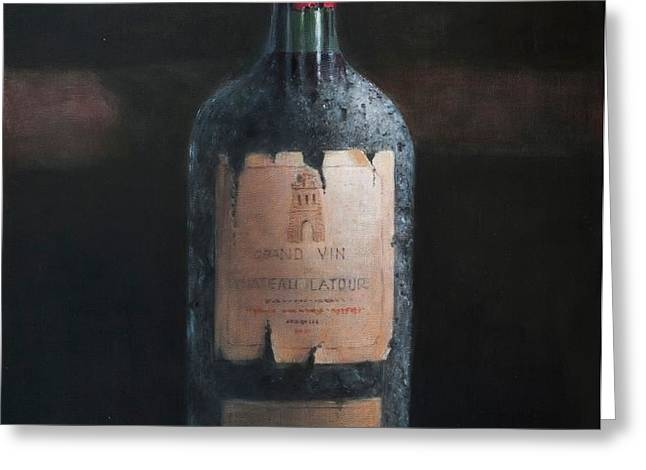 Chateau Latour Greeting Card by Lincoln Seligman