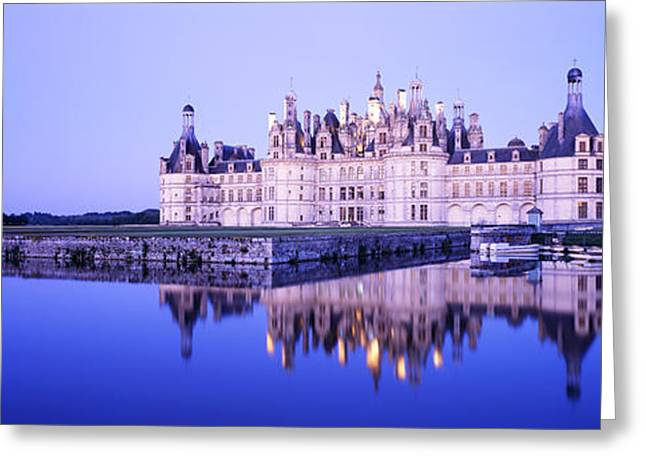 Chateau Royal De Chambord, Loire Greeting Card by Panoramic Images