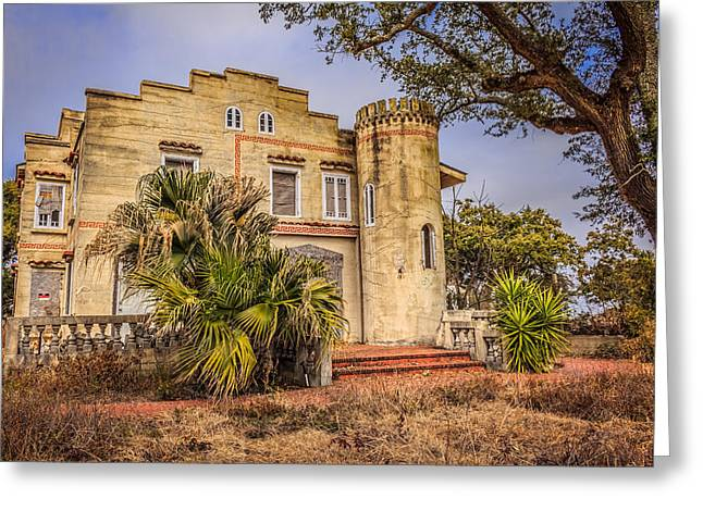 Recently Sold -  - Chateau Greeting Cards - Chateau Sherman Greeting Card by Brian Wright