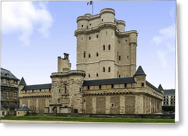 Vincennes Greeting Cards - Chateau Vincennes Greeting Card by Eric Franks