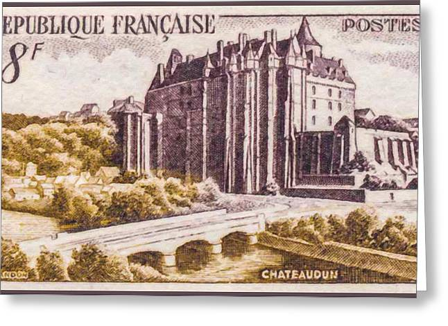 Eure Greeting Cards - Chateaudun Greeting Card by Lanjee Chee