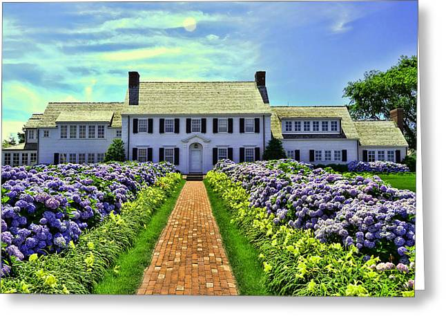 Chatham Greeting Cards - Chatham House Greeting Card by Allen Beatty