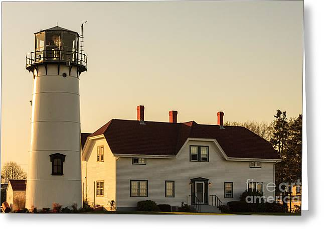 Chatham Greeting Cards - Chatham Lighthouse Greeting Card by Terri Morris