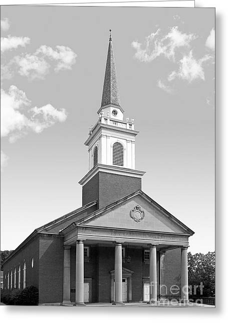 Chatham Greeting Cards - Chatham University Campbell Memorial Chapel Greeting Card by University Icons