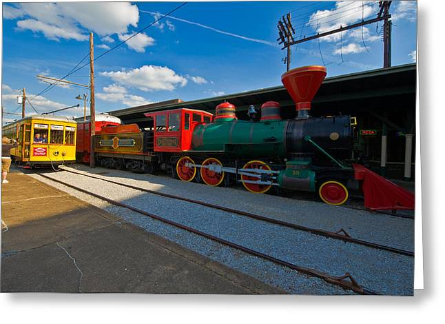 Creative People Greeting Cards - Chattanooga Choo Choo At The Creative Greeting Card by Panoramic Images