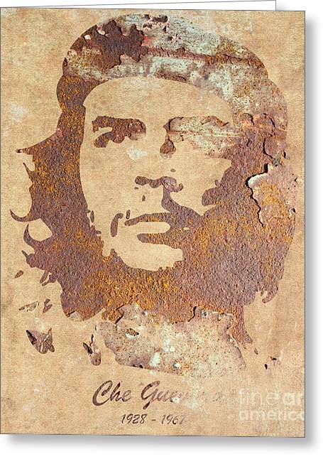Marxism Greeting Cards - Che Guevara forever Greeting Card by T Lang