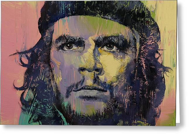 Che Greeting Cards - Che Guevara Greeting Card by Michael Creese