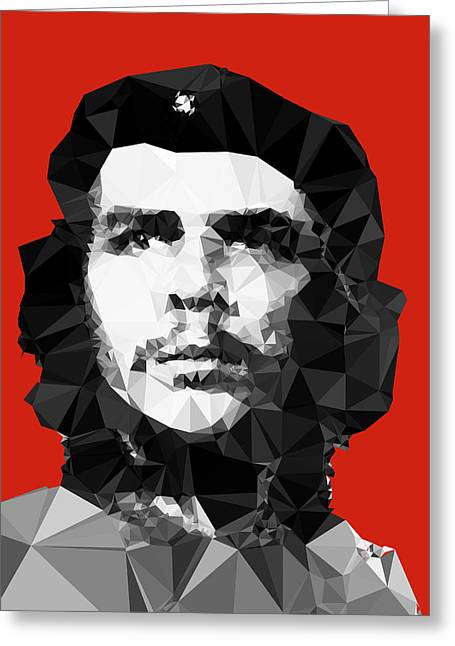 Che Greeting Cards - Che Guevara Greeting Card by Vitaliy Gladkiy